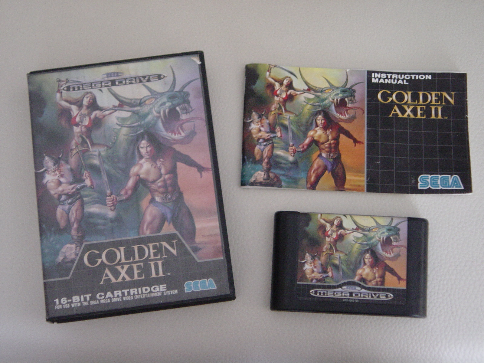une photo d'�cran de Golden Axe 2 sur Sega Megadrive