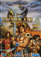 Photo de la boite de Golden Axe 3