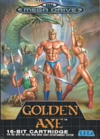 Photo de la boite de Golden Axe