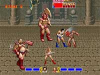 Golden Axe, capture d'écran