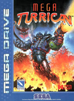 Photo de la boite de Mega Turrican