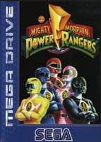 Photo de la boite de Mighty Morphin Power Rangers (Megadrive)
