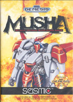 Photo de la boite de Musha Aleste