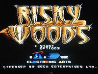 Risky Woods, capture décran