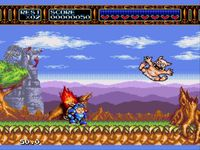 une photo d'écran de Rocket Knight Adventures sur Sega Megadrive