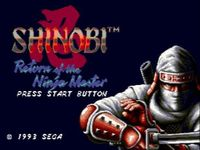 Shinobi 3 - Return of the Ninja Master, capture d'écran