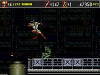 Shinobi 3 - Return of the Ninja Master sur Sega Megadrive