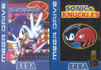 Photo de la boite de Sonic 3 and Knuckles