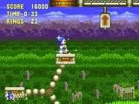 une photo d'écran de Sonic the Hedgehog 3 sur Sega Megadrive