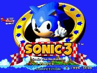 Sonic the Hedgehog 3, capture d'écran