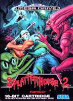 Photo de la boite de Splatterhouse 2