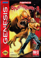 Photo de la boite de Splatterhouse 3
