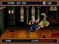 Splatterhouse 3, capture décran