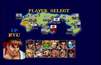 Street Fighter 2 - Special Champion Edition, capture décran