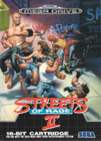 Photo de la boite de Streets of Rage 2