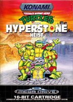 Photo de la boite de Teenage Mutant Hero Turtles - The Hyperstone Heist