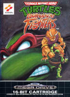 Photo de la boite de Teenage Mutant Hero Turtles - Tournament Fighters (Megadrive)