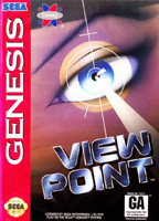 Photo de la boite de Viewpoint (Megadrive)