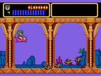 une photo d'écran de Wonder Boy III - Monster Lair sur Sega Megadrive