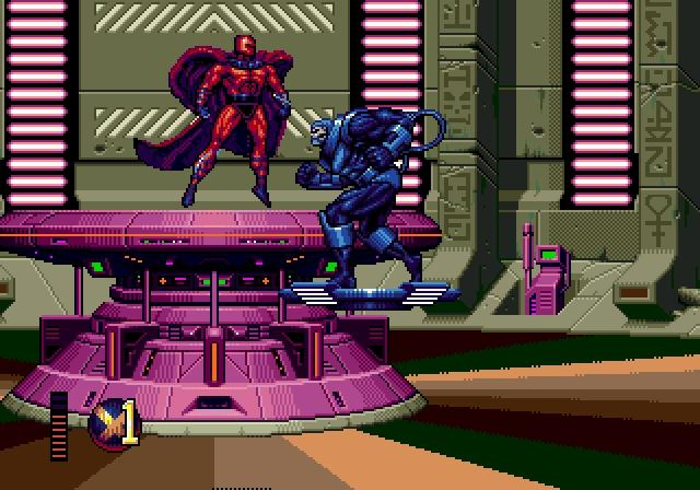 une photo d'écran de X-Men 2 - Clone Wars sur Sega Megadrive