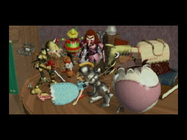 une photo d'écran de Clockwork Knight 2 sur Sega Saturn