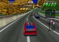 Daytona USA Championship Circuit Edition, capture d'écran