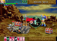 une photo d'écran de Dungeons And Dragons Collection sur Sega Saturn