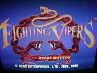 une photo d'écran de Fighting Vipers sur Sega Saturn