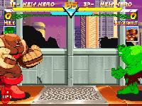 Marvel Super Heroes sur Sega Saturn