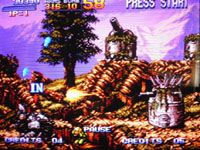 Metal Slug sur Sega Saturn