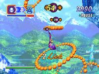 Nights Into Dreams, capture décran