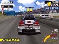 Sega Touring Car Championship, capture d'écran