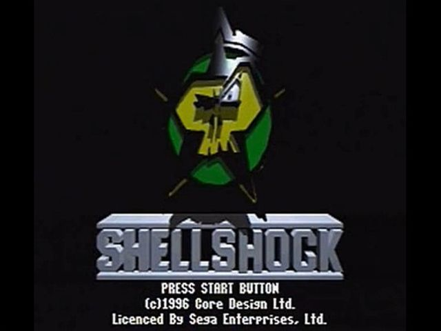 une photo d'écran de Shellshock sur Sega Saturn