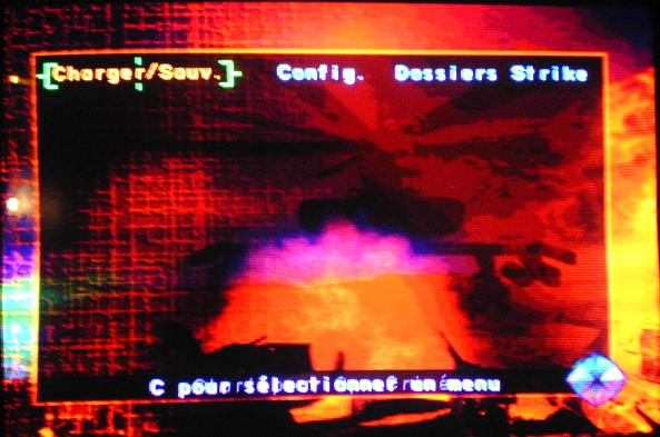 une photo d'écran de Soviet Strike sur Sega Saturn