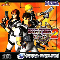Photo de la boite de Virtua Cop 2