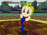 Virtua Fighter Kids sur Sega Saturn