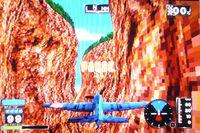 une photo d'écran de Wing Arms sur Sega Saturn