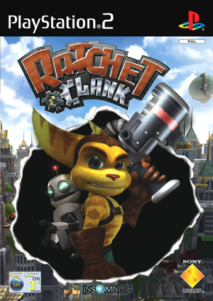 Photo de la boite de Ratchet et Clank