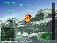 une photo d'écran de Ace Combat 2 sur Sony Playstation