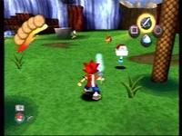 une photo d'écran de Ape Escape sur Sony Playstation