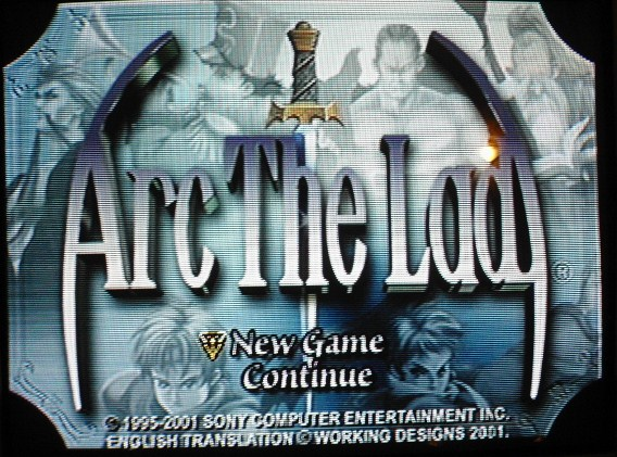une photo d'écran de Arc The Lad sur Sony Playstation