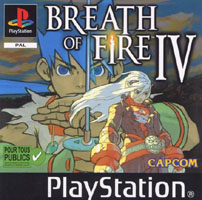 Photo de la boite de Breath of Fire 4