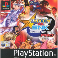Photo de la boite de Capcom VS SNK Pro