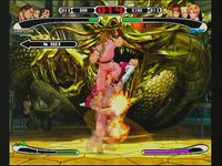 Capcom VS SNK Pro, capture décran