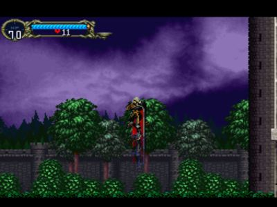 une photo d'écran de Castlevania - Symphony of the Night sur Sony Playstation