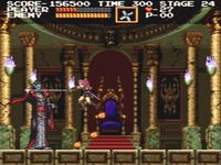 Castlevania Chronicles, capture d'écran