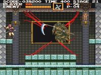 une photo d'écran de Castlevania Chronicles sur Sony Playstation