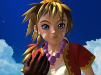 une photo d'écran de Chrono Cross sur Sony Playstation
