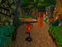 Crash Bandicoot 2, capture d'écran