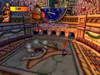 une photo d'écran de Crash Bandicoot 3 sur Sony Playstation